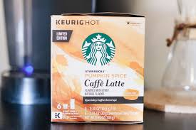 Keurig 20 Pumpkin Spice Latte by Chocolate Chip Pumpkin Bars