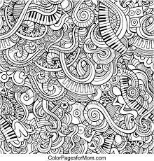 Vector Clip Art Of Music Pattern