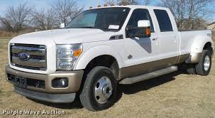 2011 Ford F350 Super Duty King Ranch Crew Cab Pickup Truck |...