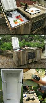 25+ Unique Old Fridge Cooler Ideas On Pinterest | Diy Cooler ... Patio Cooler Stand Project 2 Patios Cabin And Lakes 11 Best Beverage Coolers For Summer 2017 Reviews Of Large Kruses Workshop Party Table With Built In Beerwine Ice How To Build A Wood Deck Fox Hollow Cottage Diy Your Backyard Wheelbarrow Foil Smoker Outdoor Decorations Beer Wooden Plans Home Decoration 25 Unique Cooler Ideas On Pinterest Diy Chest Man Cave Backyard Our Preppy Lounge Area Thoughtful Place