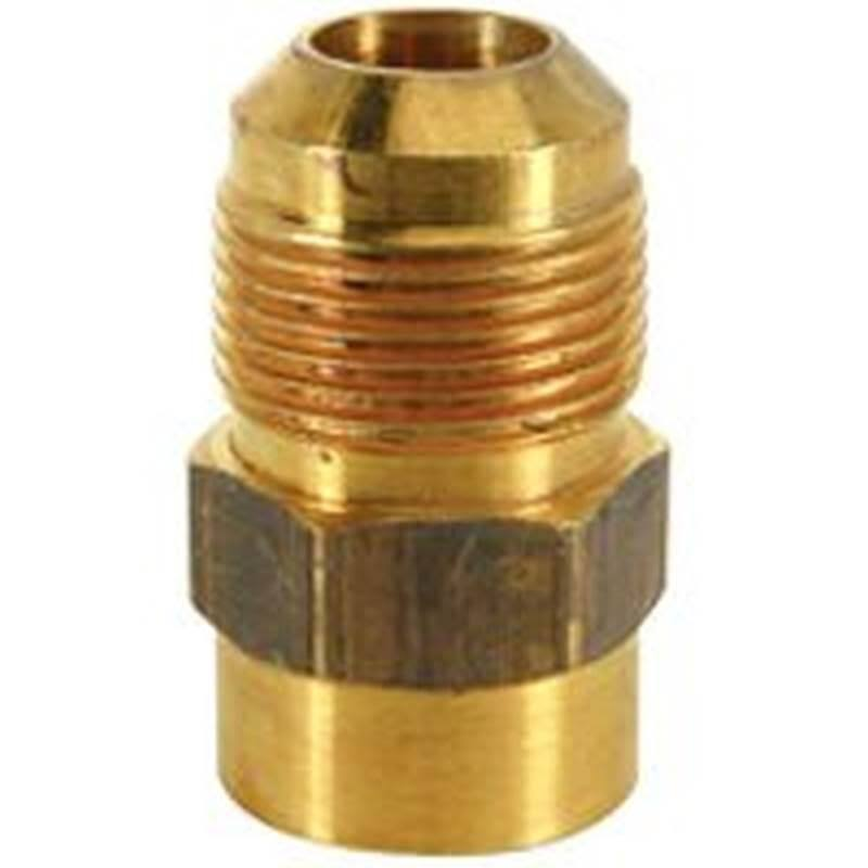 "Brasscraft MAU11012 Bulk Gas Connector Fittings - 5/8"" x 3/4"""