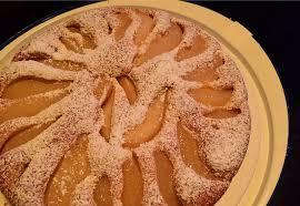 veganer birnenkuchen mandarinenmaki