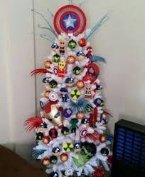 Whoville Christmas Tree by Spider Man Trimming The Tree Christmas Decorations