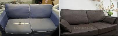 recouvrir un canapé avant après fauteuil déco
