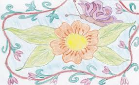 Spring Time Author Drawing