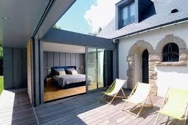 extension chambre 60 m2 pour une extension en bois côté maison
