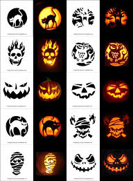 Scariest Pumpkin Carving Patterns by Free Printable Scary Halloween Pumpkin Carving Stencils Patterns