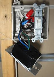 Ceiling Mount Occupancy Sensor Wiring Diagram by How To Install An Occupancy Sensor Light Switch Part 2