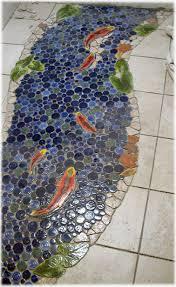 decorative ceramic tile made pond tiles for custom ceramic