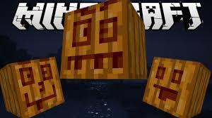 Minecraft Pumpkin Carving Ideas by Minecraft Pumpkin Carving Challenge Carvable Pumpkins Mod