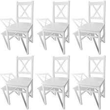 6x esszimmerstuhl küchenstuhl holzstuhl massivholz esszimmer