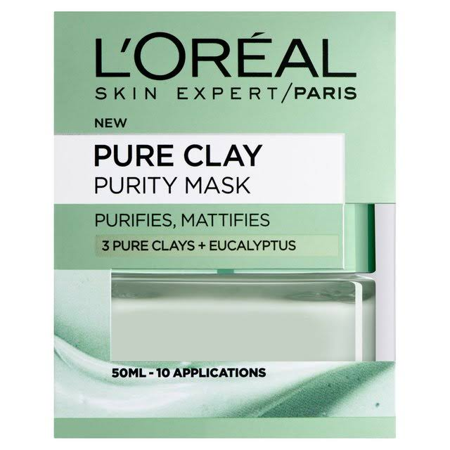L'oreal Paris Pure Clay Purity Mask - 50ml