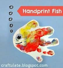 Craftulate Handprint Fish 10 Fun Ocean Crafts