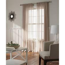 Target Threshold Window Curtains by Chiffon Sheer Curtain Panel Threshold Target