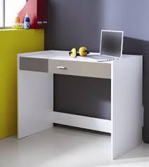 bureau blanc et bureau enfant contemporain blanc et gris lucinda bureau chambre