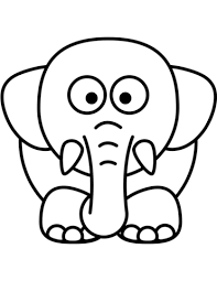 Click To See Printable Version Of Cartoon Elephant Coloring Page