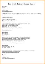 Commercial Truck Driver Resume Sampleuncategorized Professional Expertise Bus Sample And Career Objective Profilejpg