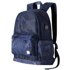 2019 Christmas Gift Cool Travel Waterproof Laptop Backpack Bookbags
