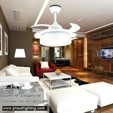 Retractable Blade Ceiling Fan India by Ceiling Fan Retractable Blade With Light Martec Contemporary