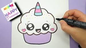 Ecouter Et Telecharger HOW TO DRAW A CUTE CUPCAKE UNICORN