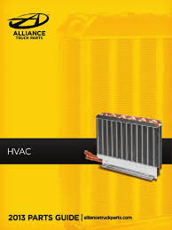 Alliance Truck Parts HVAC Catalog | Mechanical Fan | Hvac
