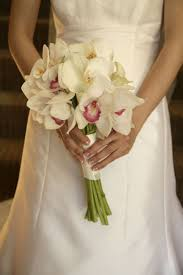Orchid Wedding Bouquets