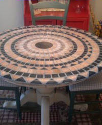 Round Patio Tablecloth With Umbrella Hole by Indoor Outdoor Tablecloths Fit Wide Variety Of Round Rectangular