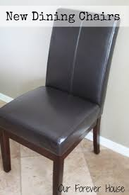 Cheap Leather Parsons Chairs by Our Forever House New Chairs In The Nook