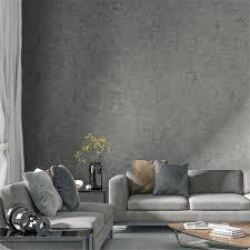 beibehang grau vlies moderne minimalistischen skandinavischen tapete zement grau wind tapete wohnzimmer schlafzimmer papel de parede