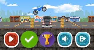 100 Truck Race Games Monster Racing Adventure Super 2D For Android APK