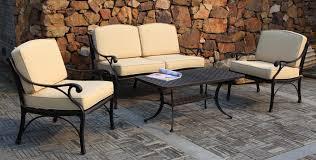 Fabulous Black Metal Patio Table Metal Patio Furniture Sets Ai