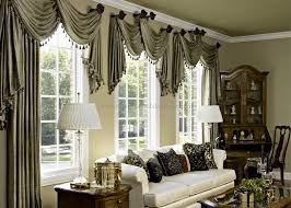 Jcpenney Thermal Blackout Curtains by Curtains And Valances Long Pooling Panels With Swag Valances That