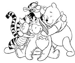 Friends Coloring Pages Free Pictures Disney Characters Of