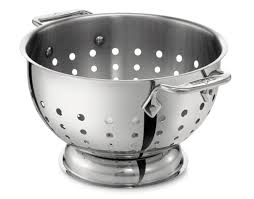 Oxo Over The Sink Colander by All Clad 5 Qt Colander U0026 Reviews Wayfair