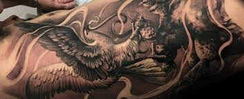 Mexican Eagle Tattoo Designs For Men