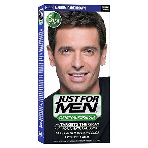 Just For Men Original Formula Men's Hair Color - Medium Dark Brown