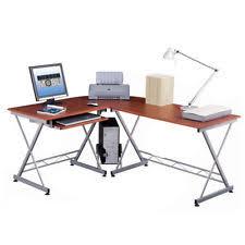 Ebay Corner Computer Desk by Brown Workstation Computer Desk Laptop Table Q7d1 Ebay