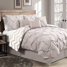 Lush Decor Serena Bedskirt by The Ella 7 Piece Reversible Comforter Set Will Work In Any Bedroom