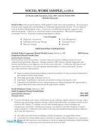 Social Services Resume Examples 79 Inspirational Sample Worker No Experience