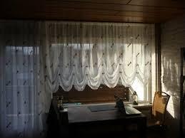 gardinen stores weiss halblang und lang wohnzimmer