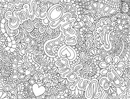 Homey Ideas Printable Abstract Coloring Pages Hard