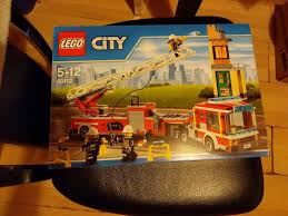Retired Lego Set. 60112. Fire Tiller Truck. Toys R Us Exclusive. New ...