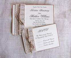 Rustic Handmade Wedding Invitations For Your Unique Party Ideas
