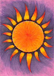 Sketch A Day Inspiration For 75 The Sun Original Drawing