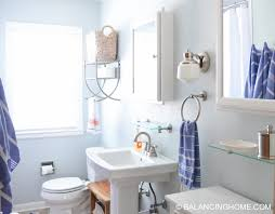 Small Bathroom Ideas: Clever Organizing And Design Ideas - Balancing ... Small Bathroom Remodel Gber Allerton Pedestal Sink Latest Bathroom Vanities And Sinks With Top Restaurant Ideas Very Kids Sink Modern Shower Design Idea For Future Basement Adding My Period Marvellous Stands Combo Cabinet Pedestal Astonishing Organizer Corner Double How To Organise A Small Two 16 Sinks Cabinets Bathrooms Color Cool Washbowl Vanity Wall Mounted Plan Shalees Diner Decor Set Style Inch Mount Images Taps 836 Best Space On Pinterest Bathrooms