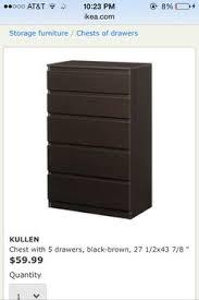 Ikea Kullen 5 Drawer Dresser by Aläng Floor Lamp Nickel Plated Gray Dresser Drawers And Box Sets