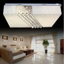 moderne led deckenleuchte moderne kristall le wohnzimmer le schlafzimmer len rechteck sittingroom leuchte