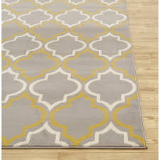 Black And Yellow Rugs