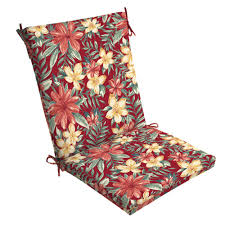 Arden Selections 20 X 44 Ruby Clarissa Tropical Outdoor Dining Chair Cushion
