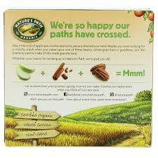 Are Kashi Pumpkin Spice Flax Bars Healthy by Natures Path Apple Pie Crunch Chia Plus Granola Bars Apple Pie